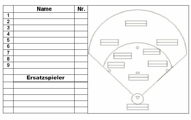 Baseball field lineup juvecenitdelacabrera baseball field lineup ccuart Image collections